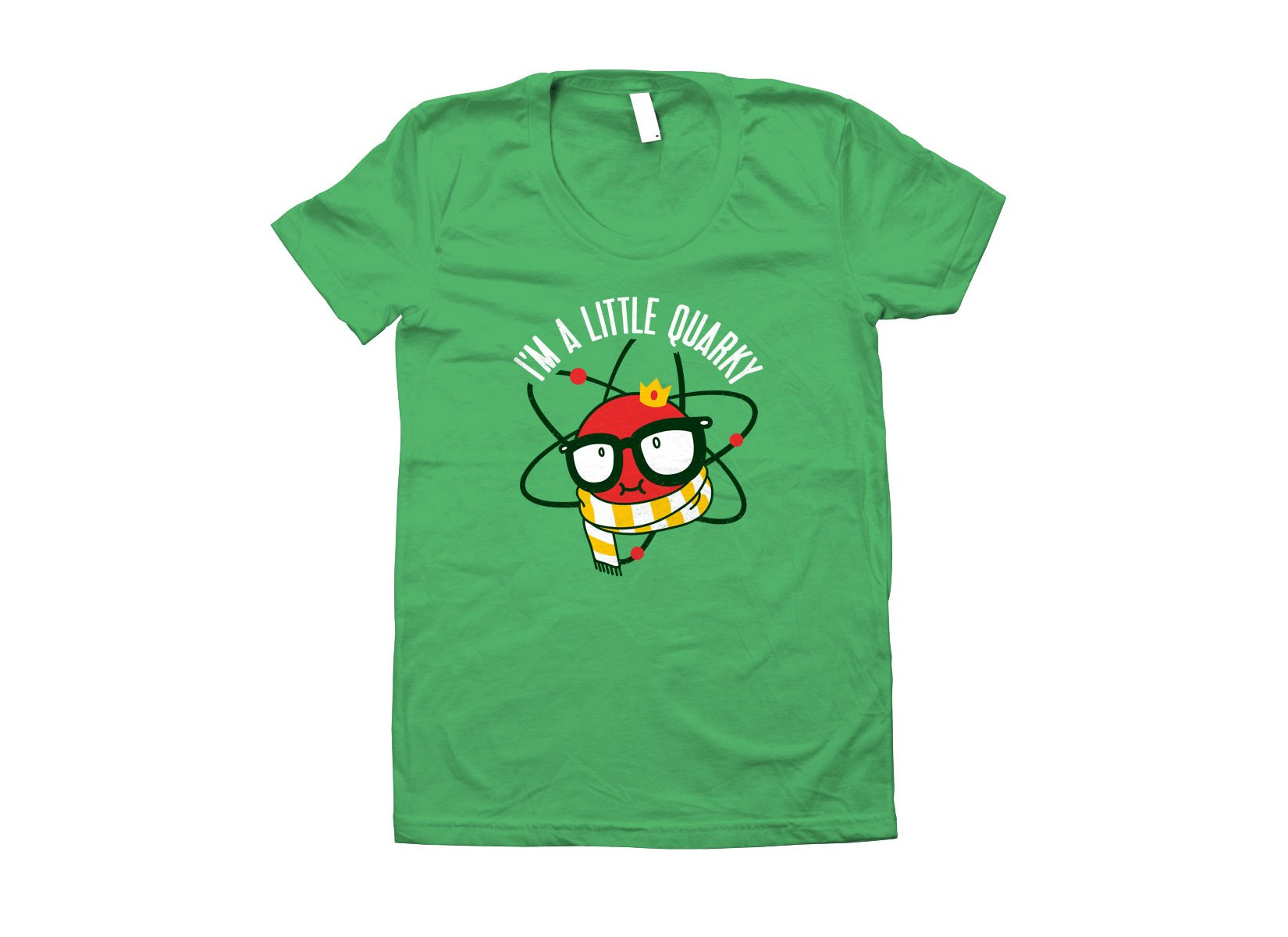 I'm A Little Quarky on Juniors T-Shirt