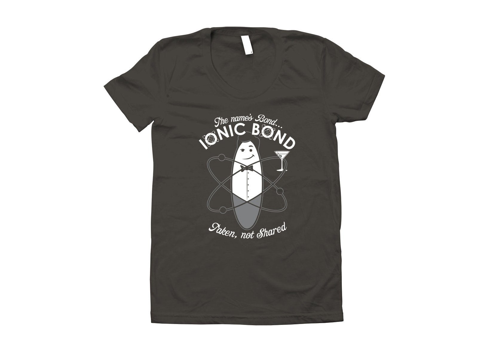 The Name's Bond, Ionic Bond on Juniors T-Shirt