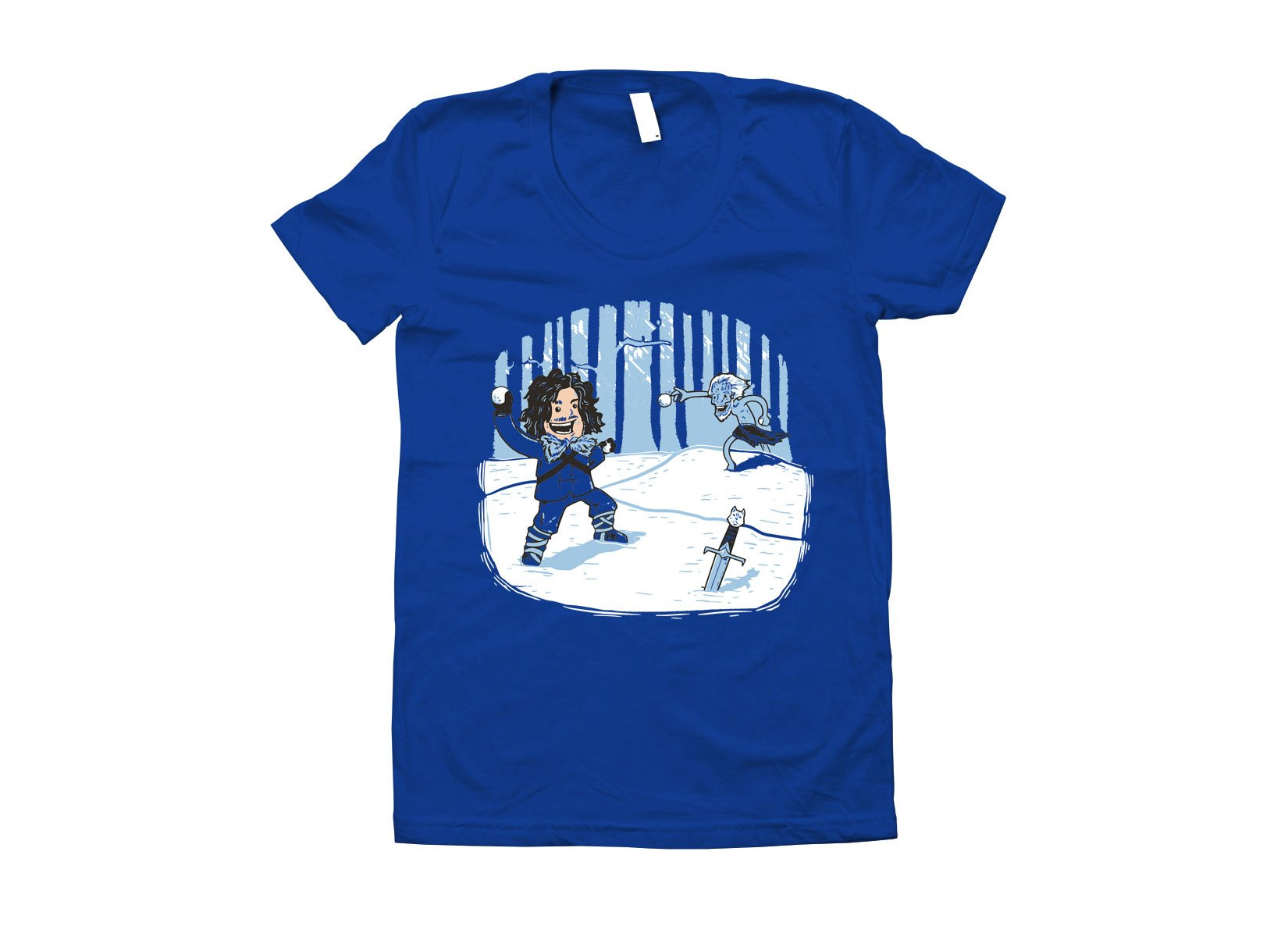 Jon Snowball on Juniors T-Shirt