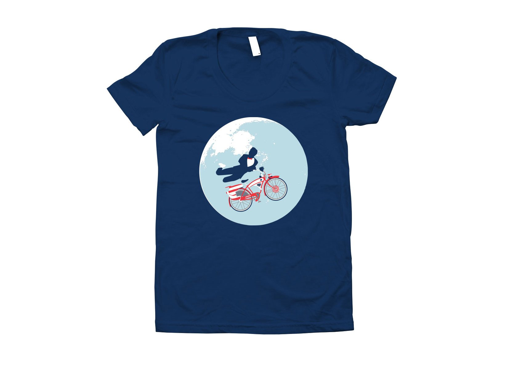 Jump The Moon on Juniors T-Shirt