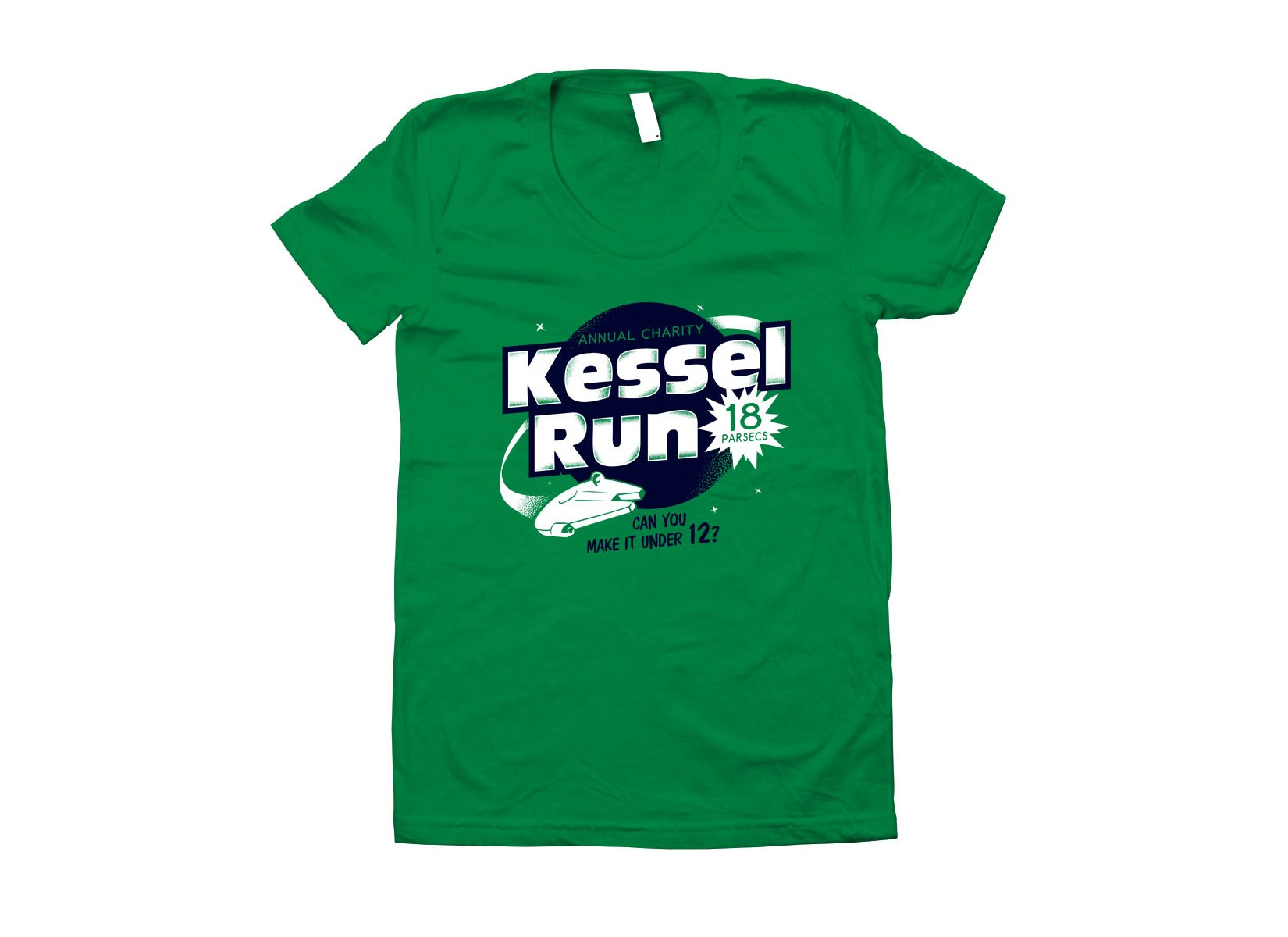 Kessel Run on Juniors T-Shirt