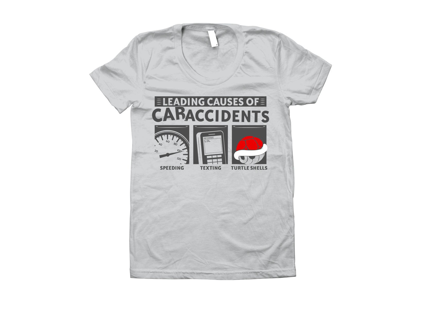 Leading Causes of Accidents on Juniors T-Shirt