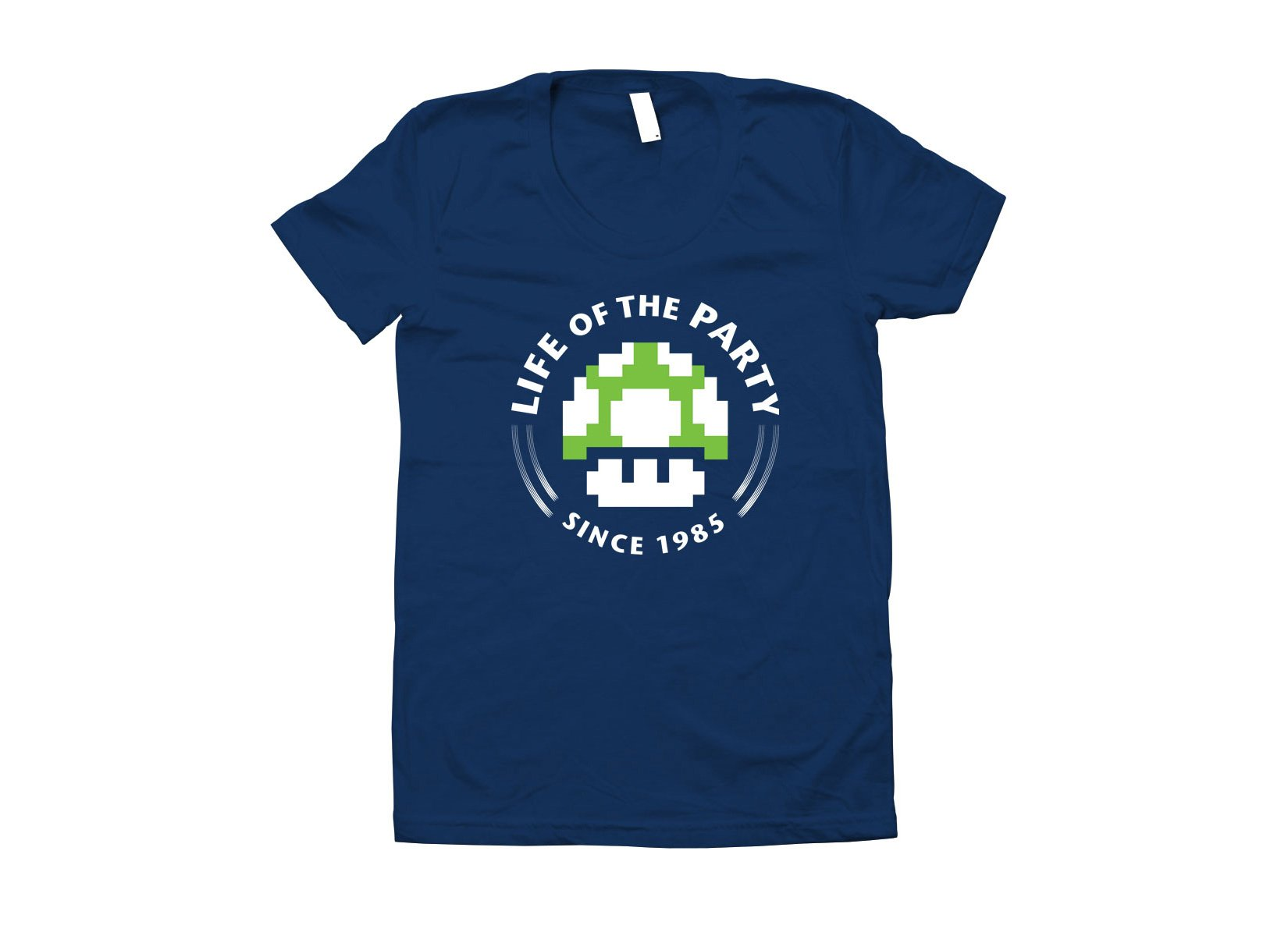 Life Of The Party on Juniors T-Shirt