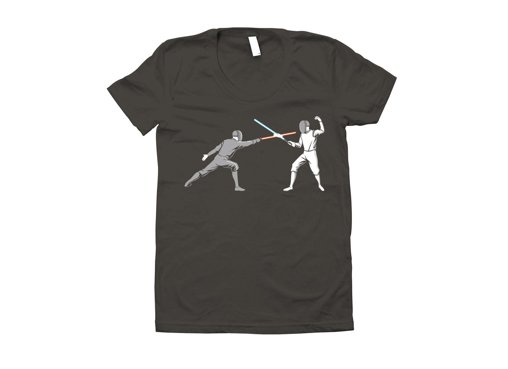Light Fencing on Juniors T-Shirt