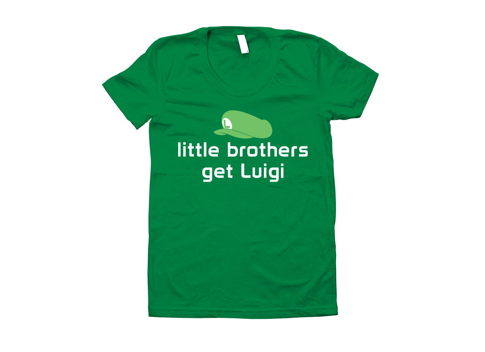 Little Brothers Get Luigi on Juniors T-Shirt