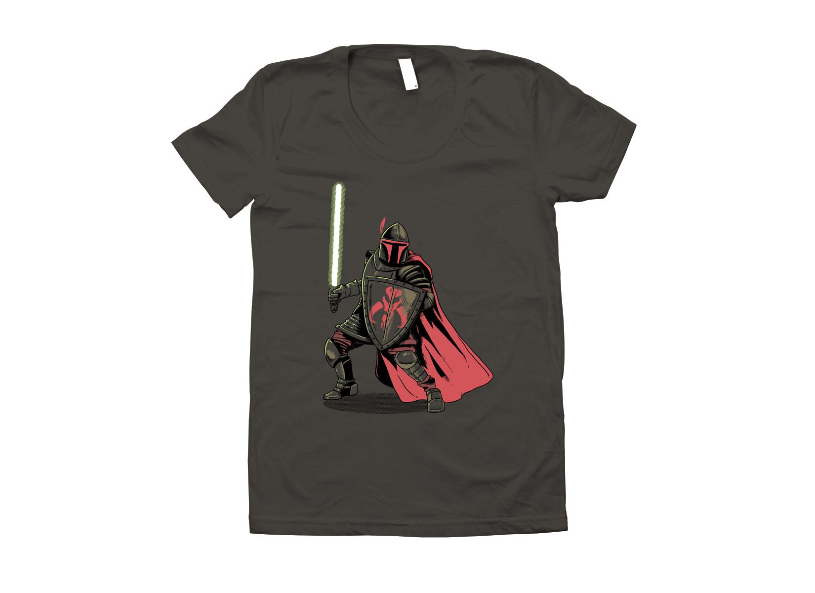 Mandalorian Knight on Juniors T-Shirt