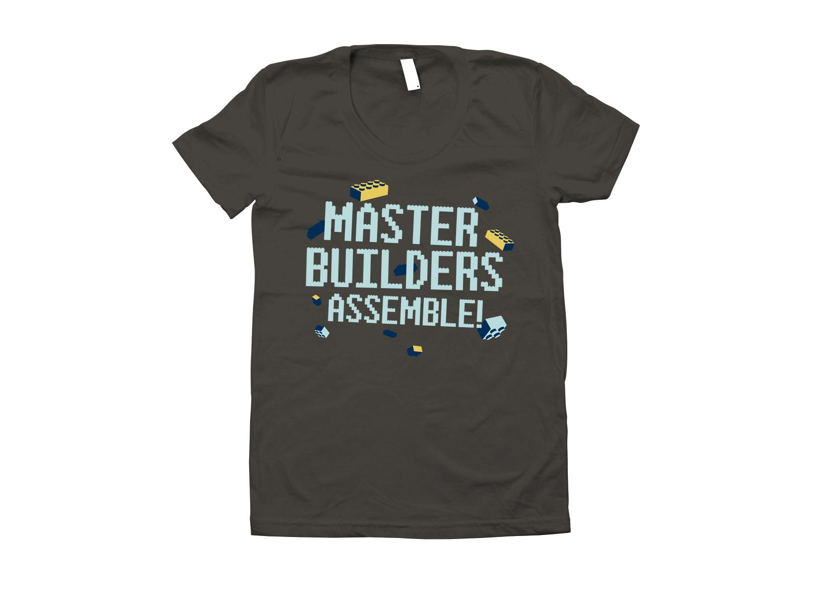 Master Builders Assemble! on Juniors T-Shirt