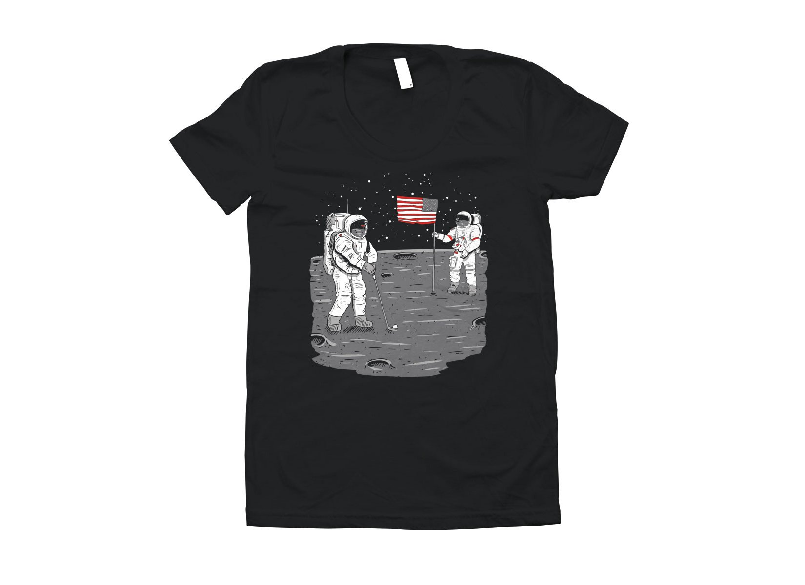 Moon Golf on Juniors T-Shirt