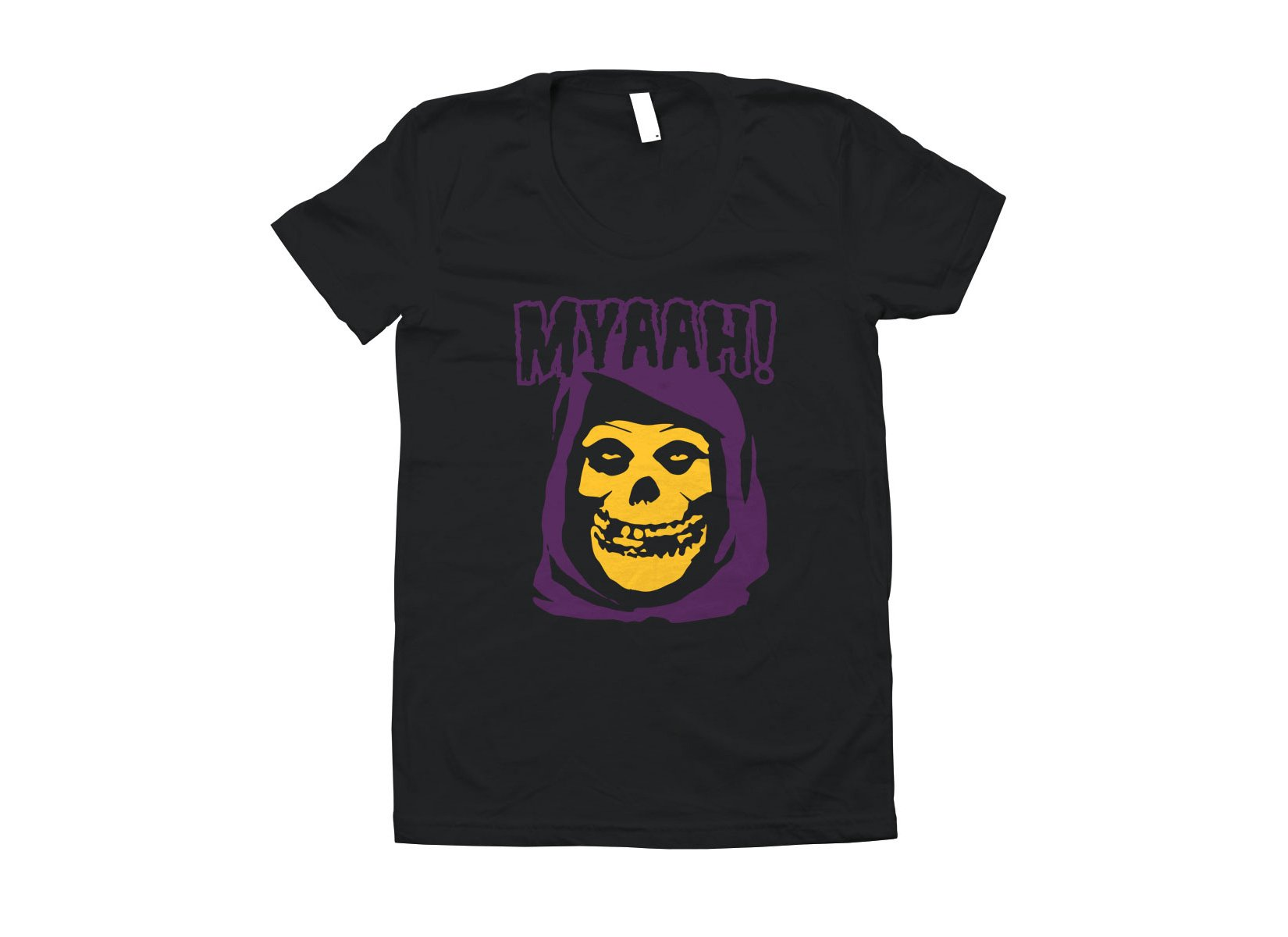 Myaah! on Juniors T-Shirt