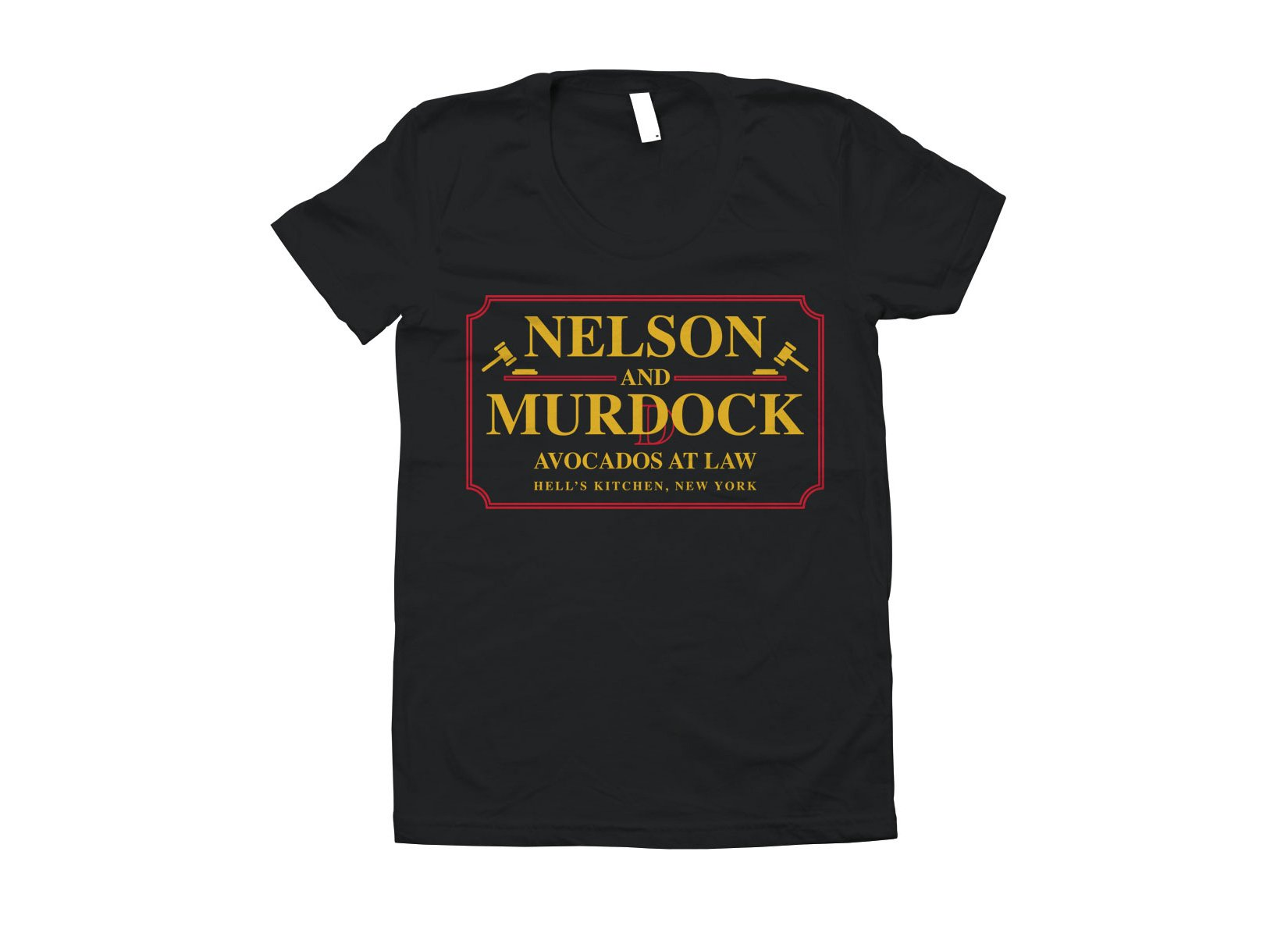 Nelson And Murdock on Juniors T-Shirt