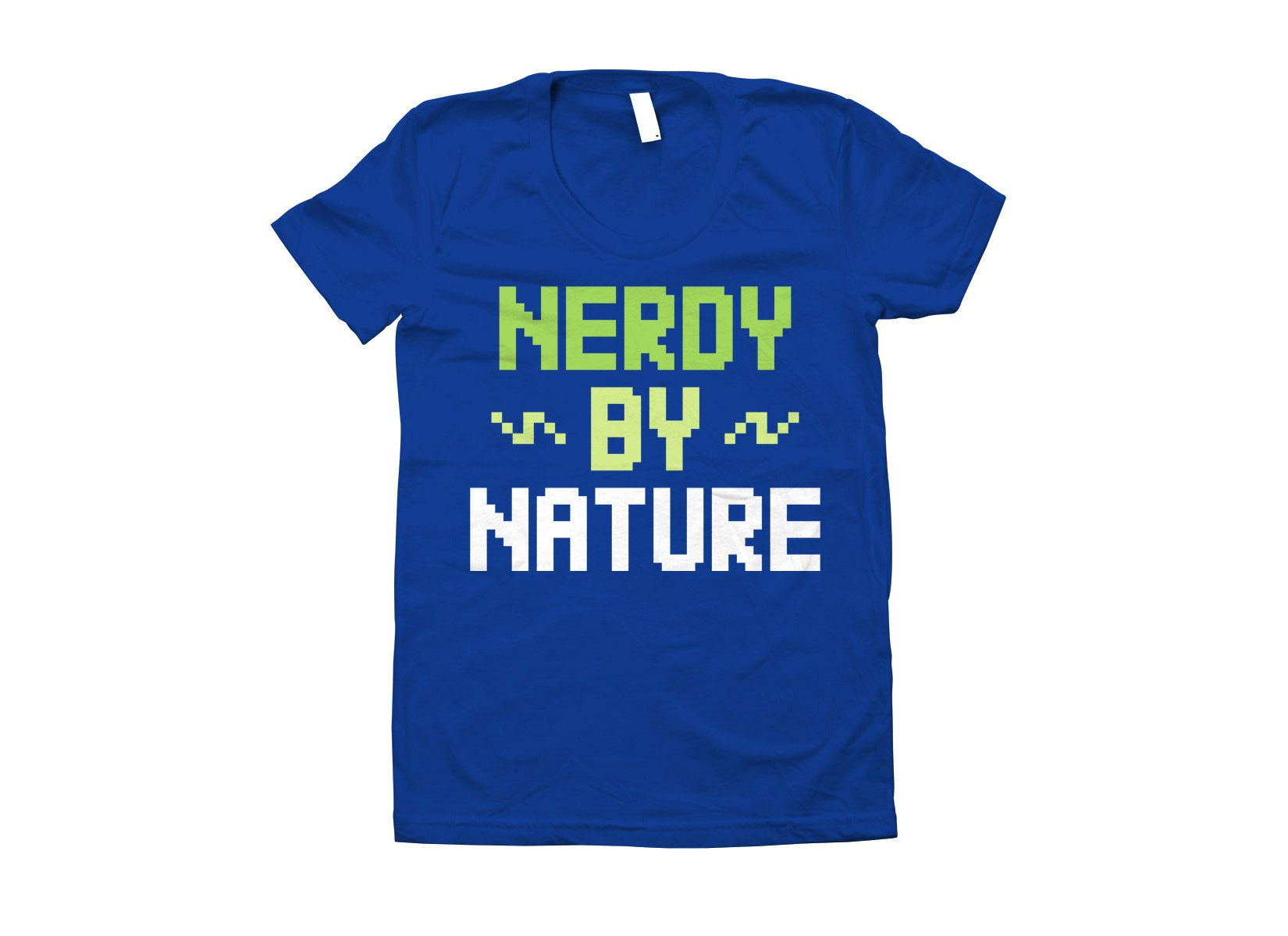 Nerdy By Nature on Juniors T-Shirt