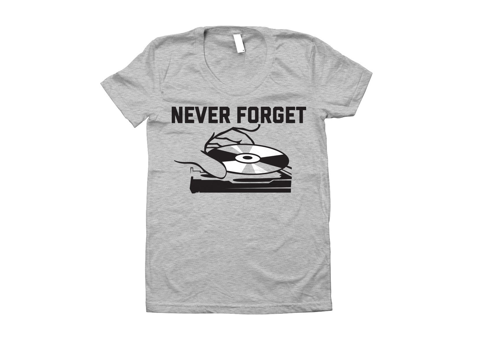 Never Forget on Juniors T-Shirt