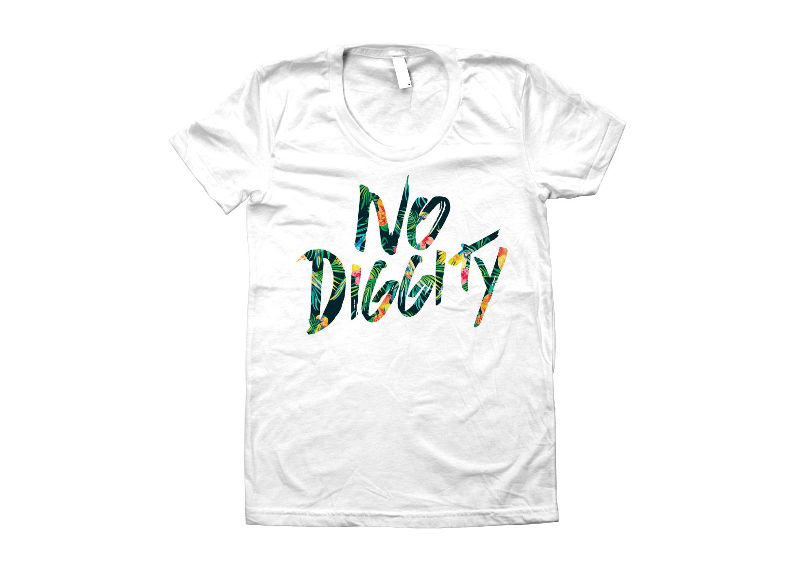No Diggity on Juniors T-Shirt