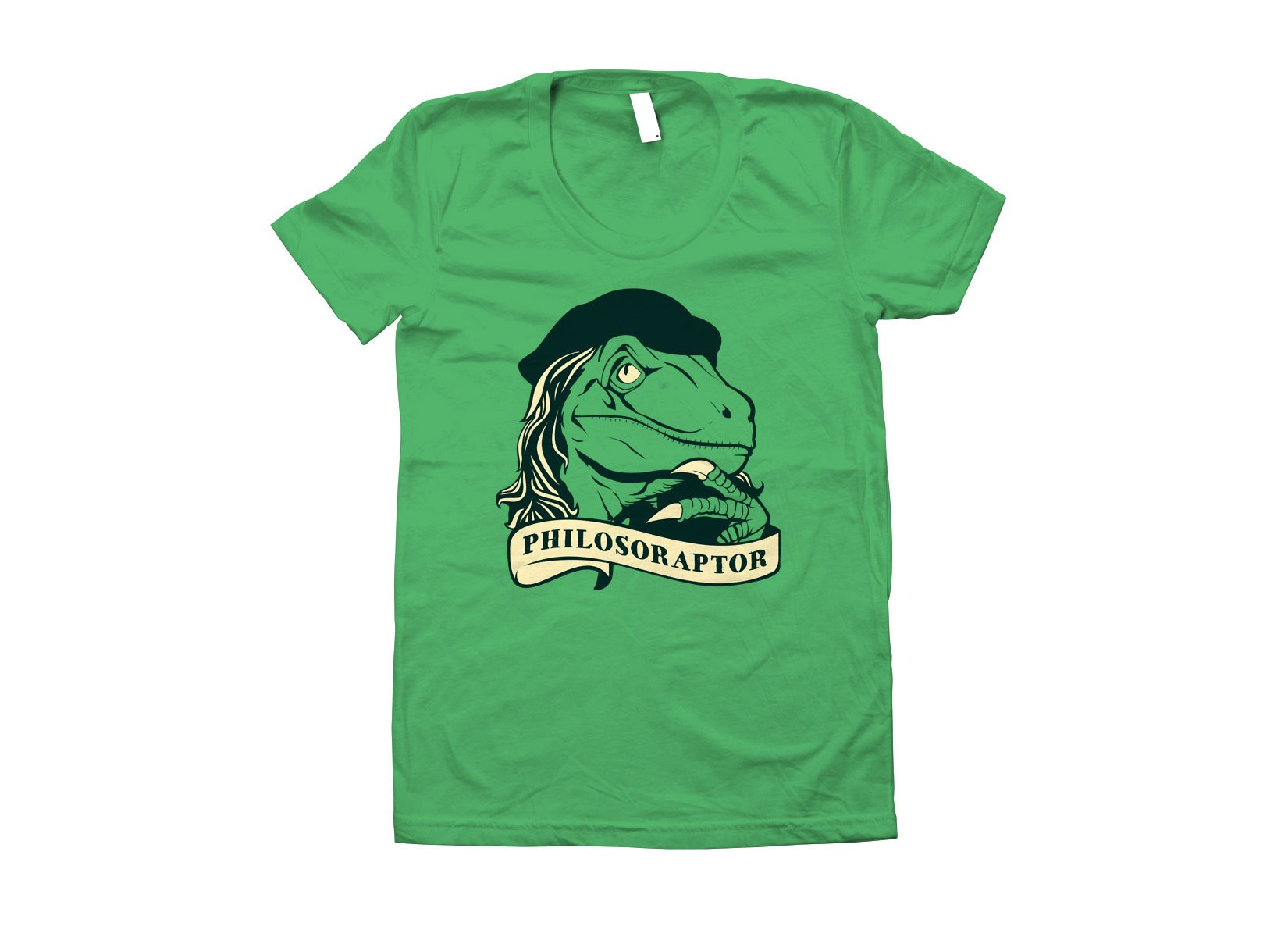 Philosoraptor on Juniors T-Shirt