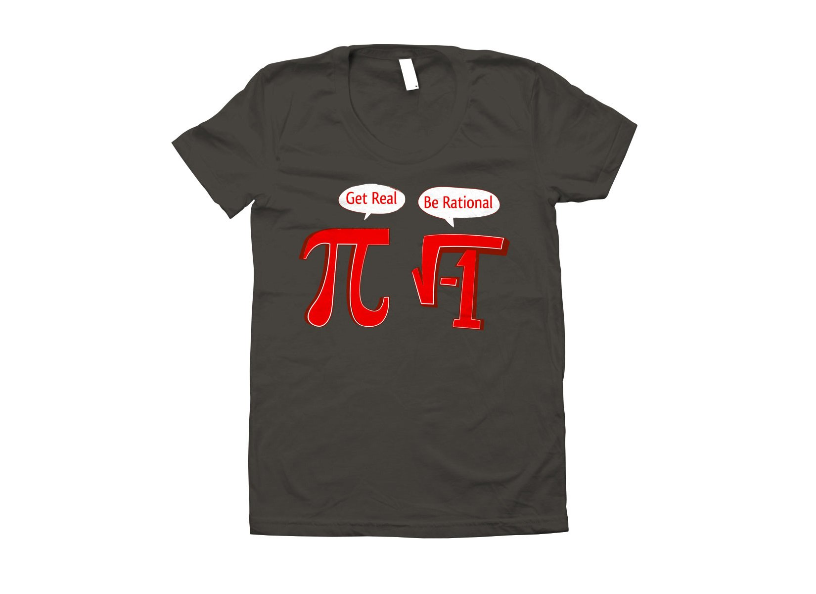 Pi Be Rational on Juniors T-Shirt
