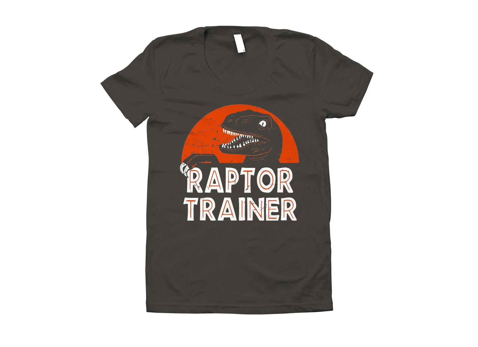 Raptor Trainer on Juniors T-Shirt