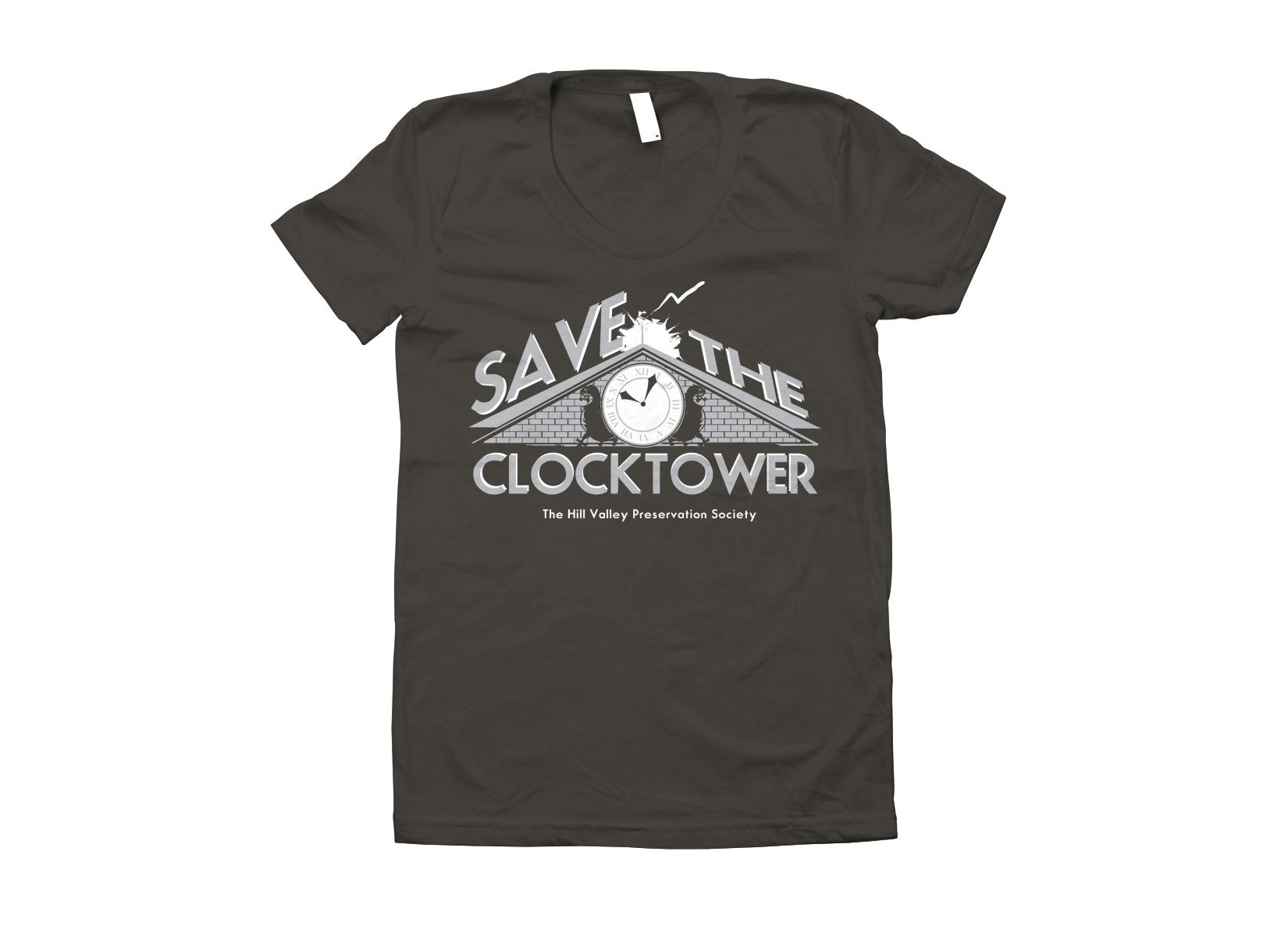 Save The Clocktower on Juniors T-Shirt