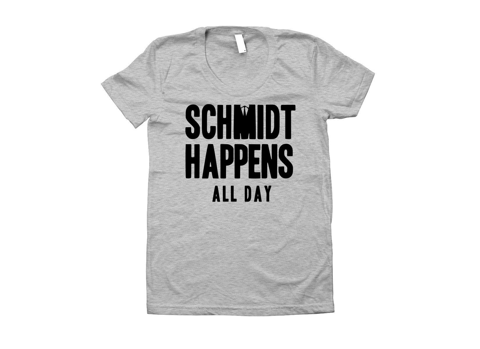 Schmidt Happens All Day on Juniors T-Shirt
