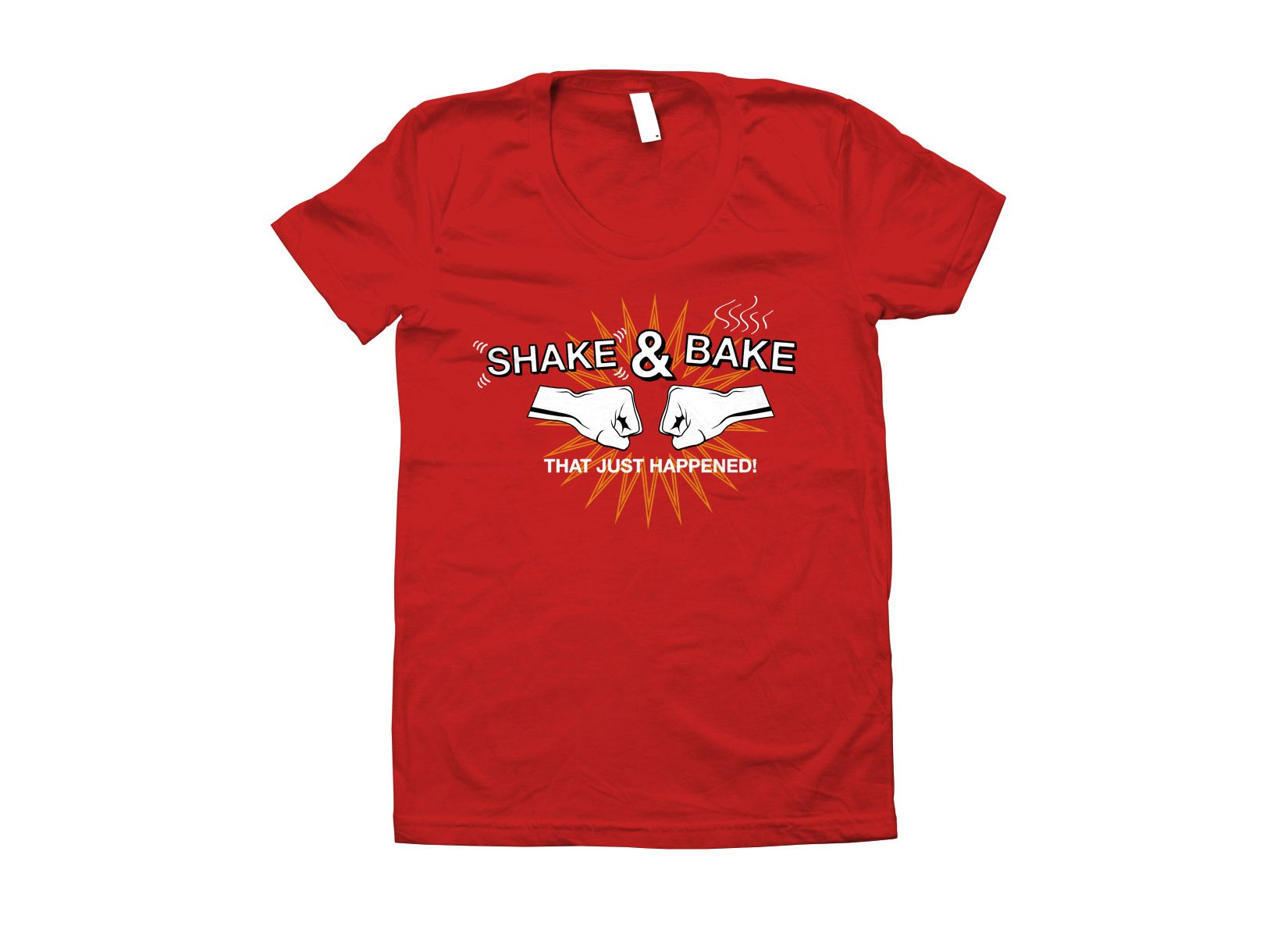 Shake & Bake on Juniors T-Shirt