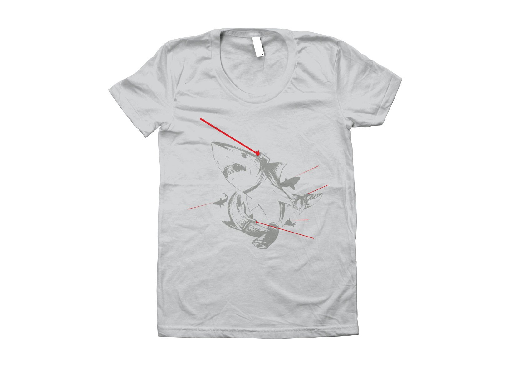 Sharks With Lasers on Juniors T-Shirt