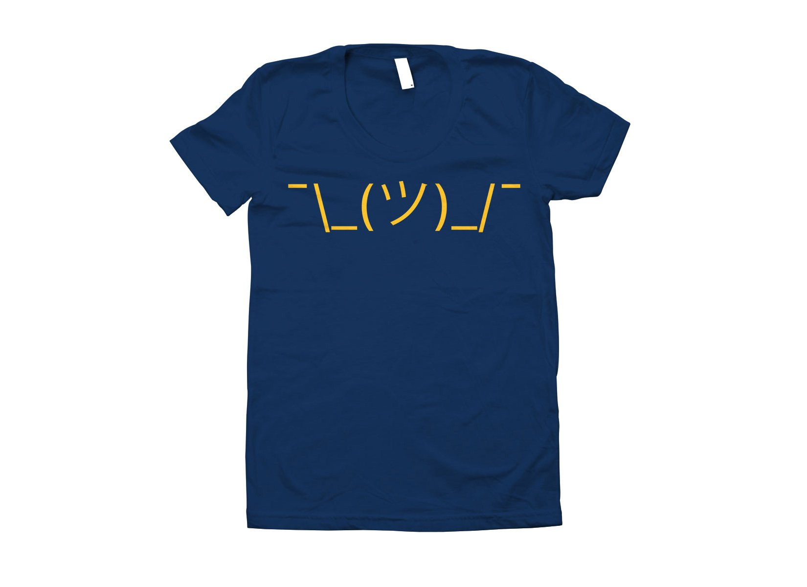 Shrug Emoji on Juniors T-Shirt