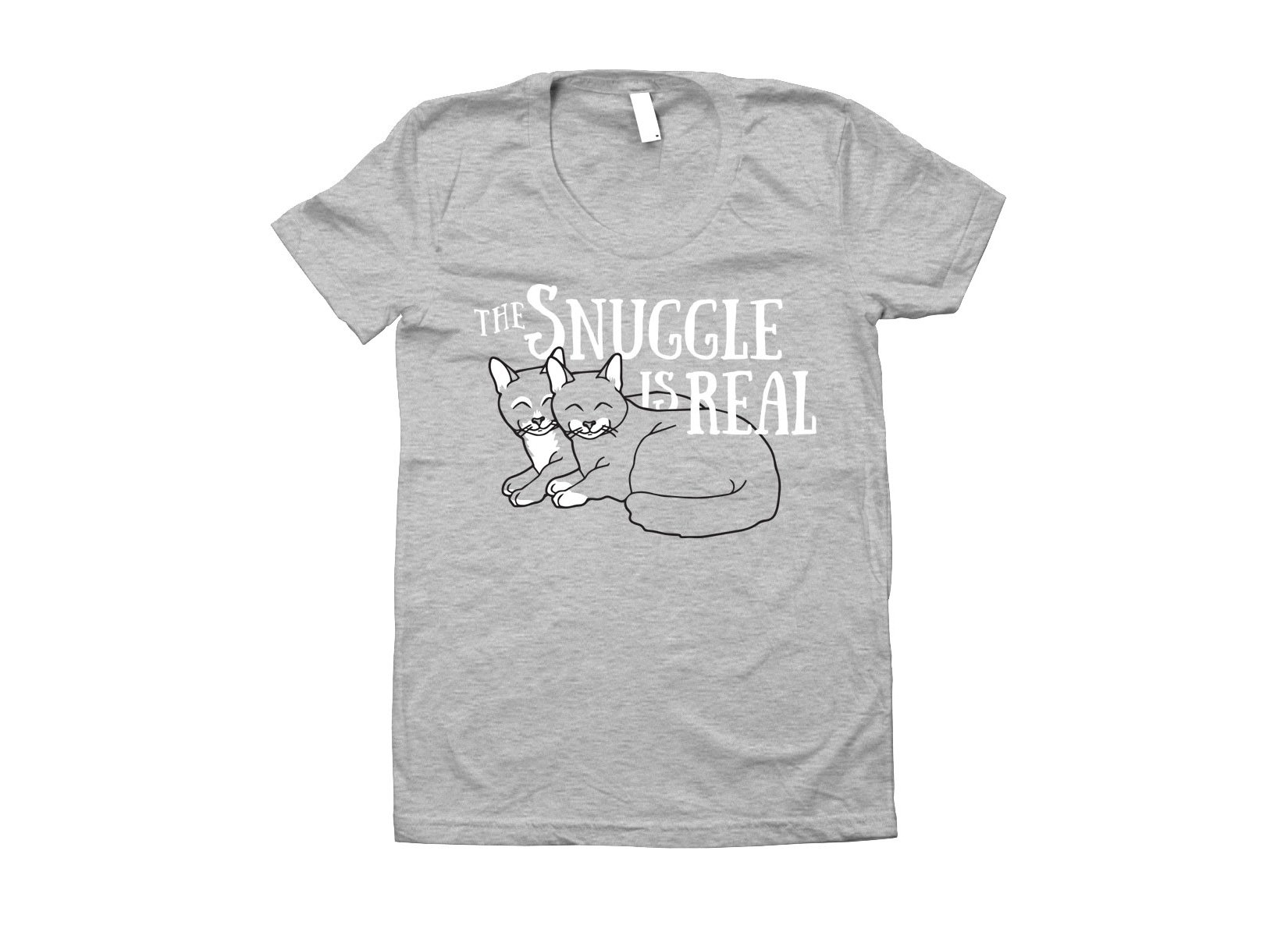 The Snuggle Is Real on Juniors T-Shirt