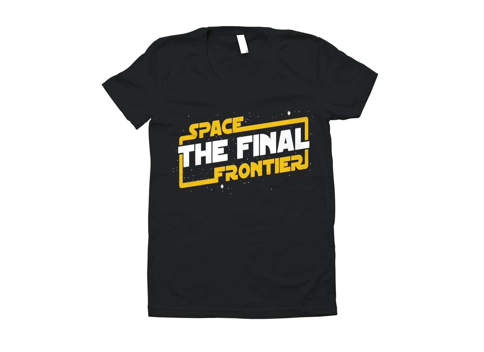 Space The Final Frontier on Juniors T-Shirt