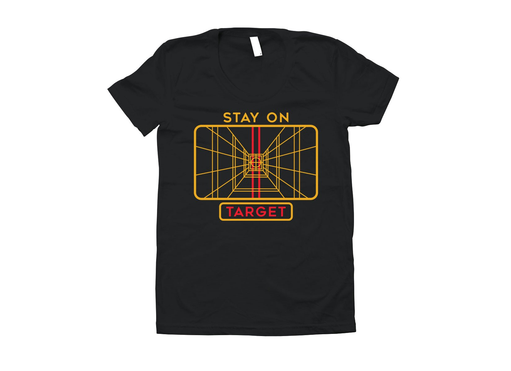 Stay On Target on Juniors T-Shirt