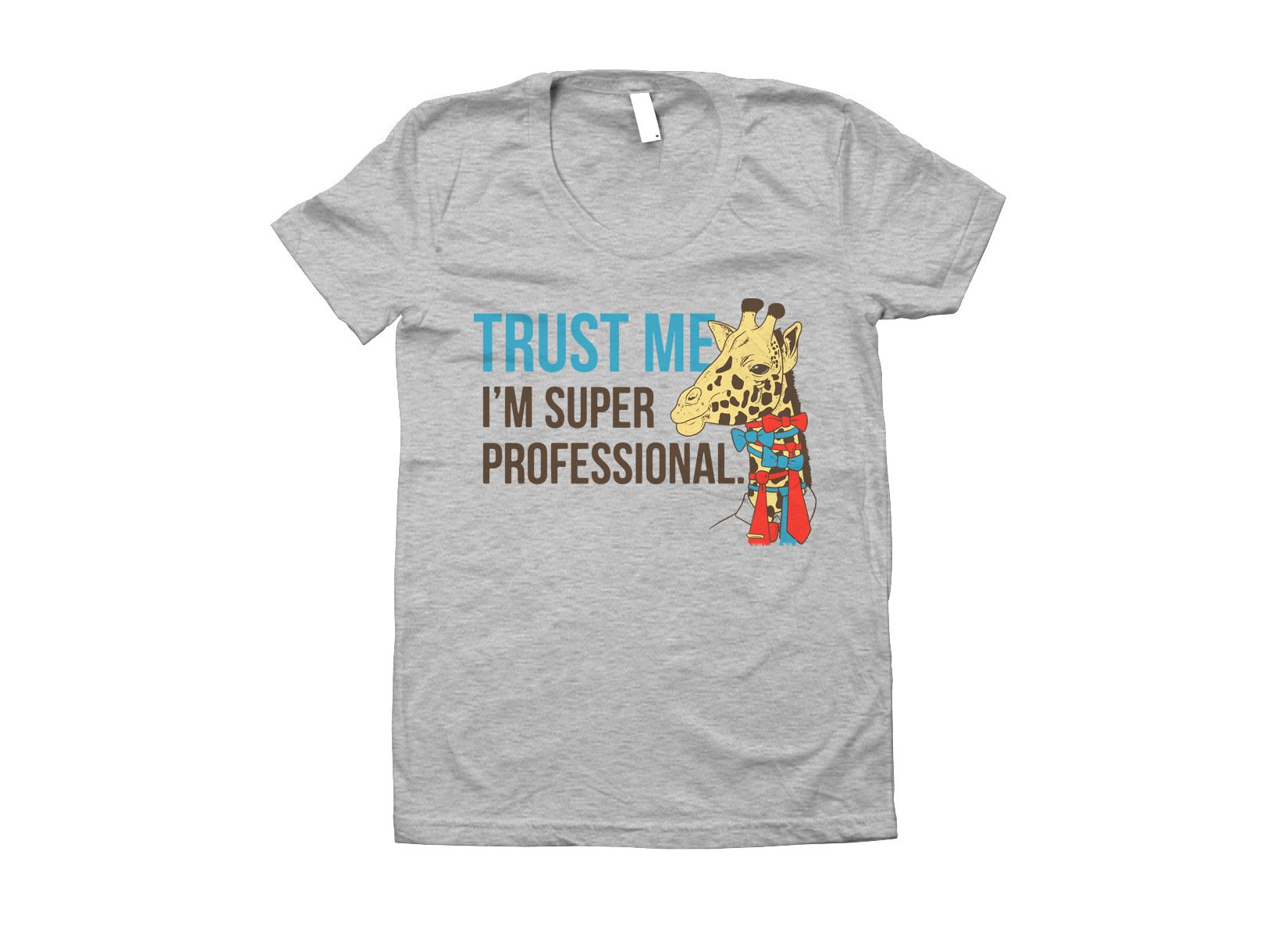 Trust Me I'm Super Professional on Juniors T-Shirt