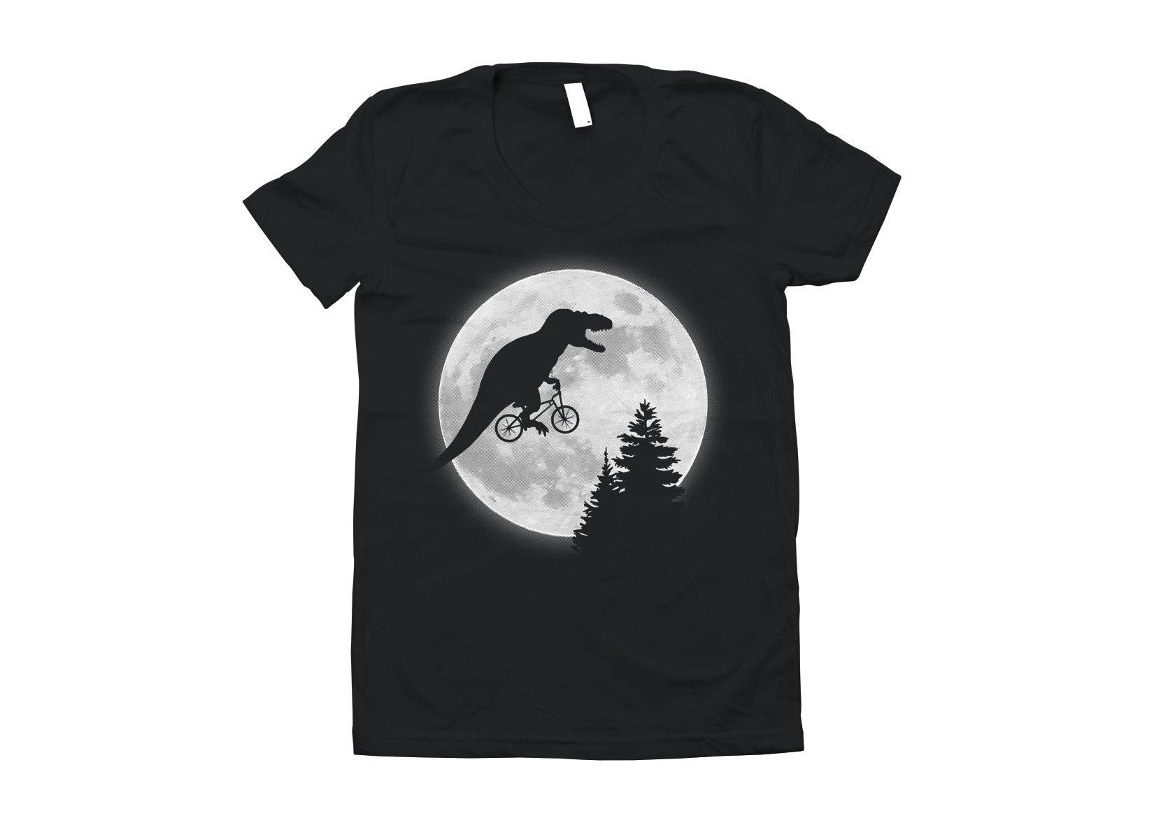 t rex moon t shirt snorgtees
