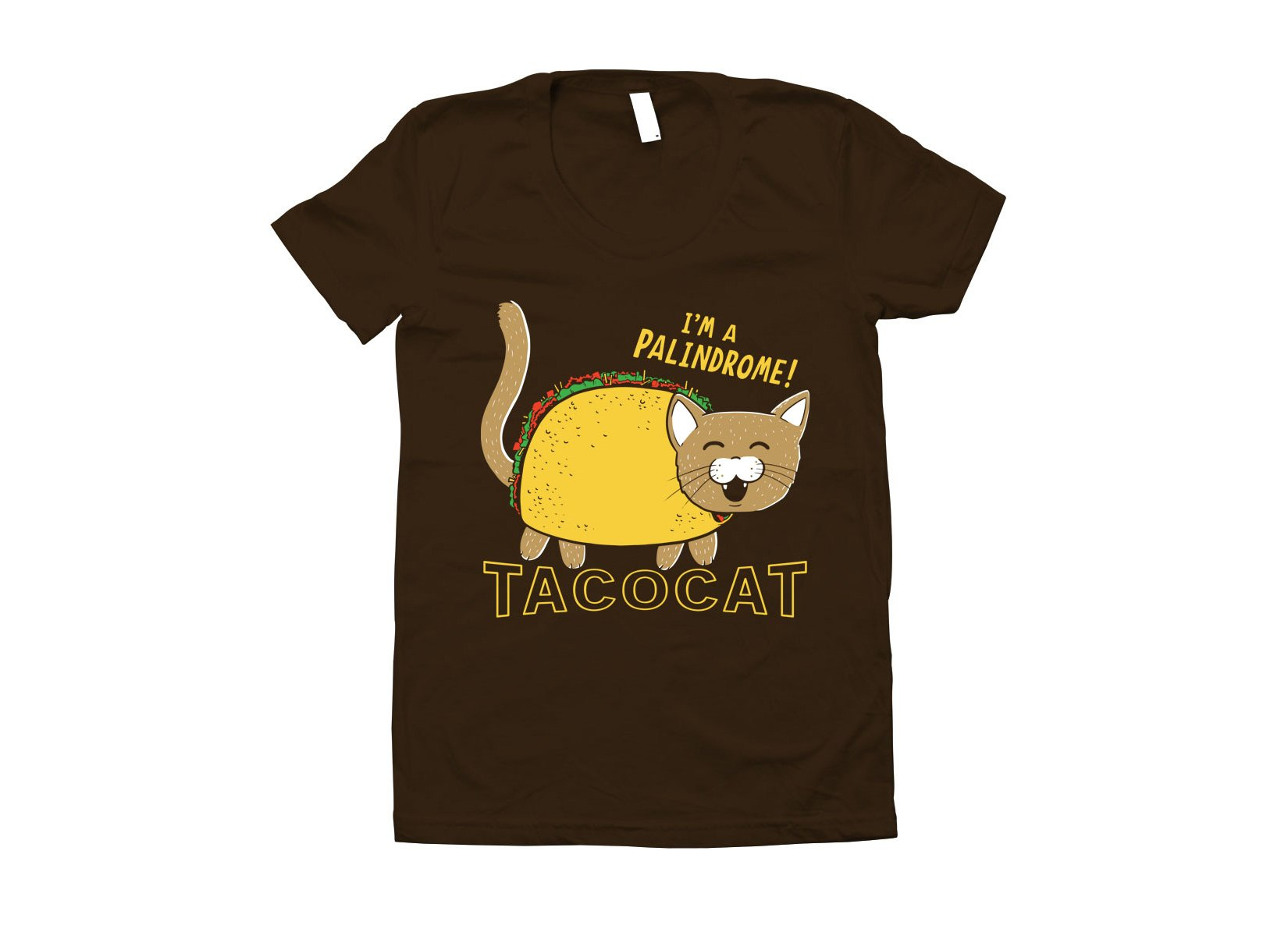 Taco Cat on Juniors T-Shirt