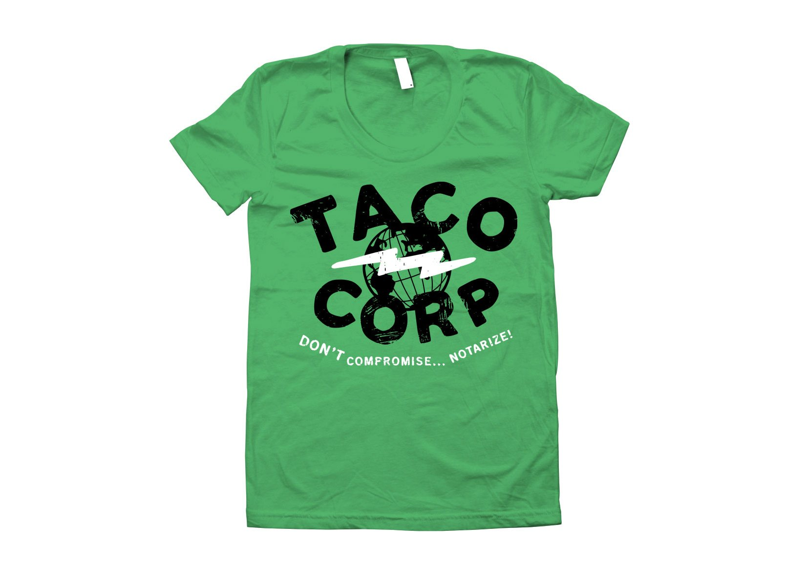 Taco Corp on Juniors T-Shirt