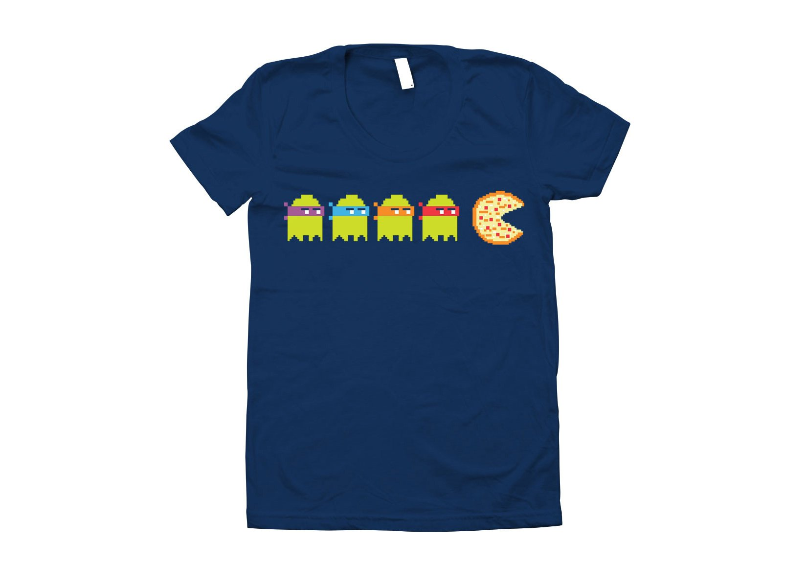 Teenage Mutant Ninja Ghosts on Juniors T-Shirt