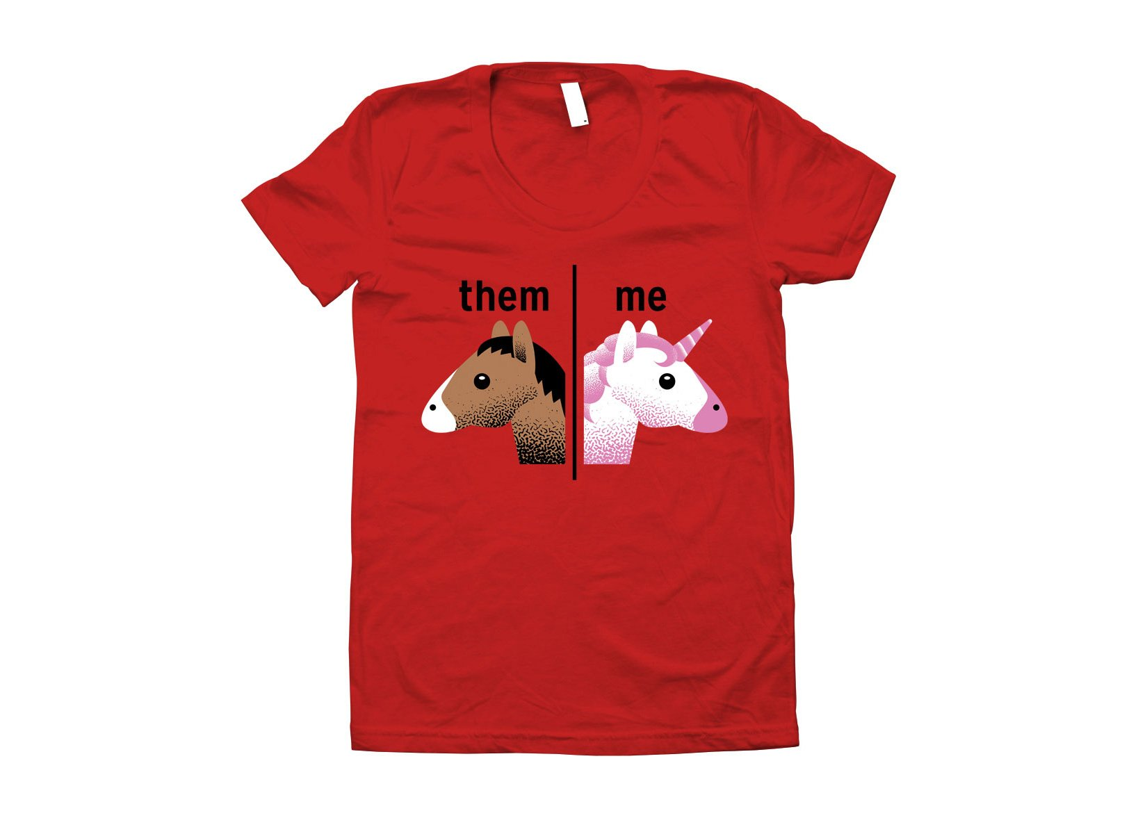 Them - Me on Juniors T-Shirt