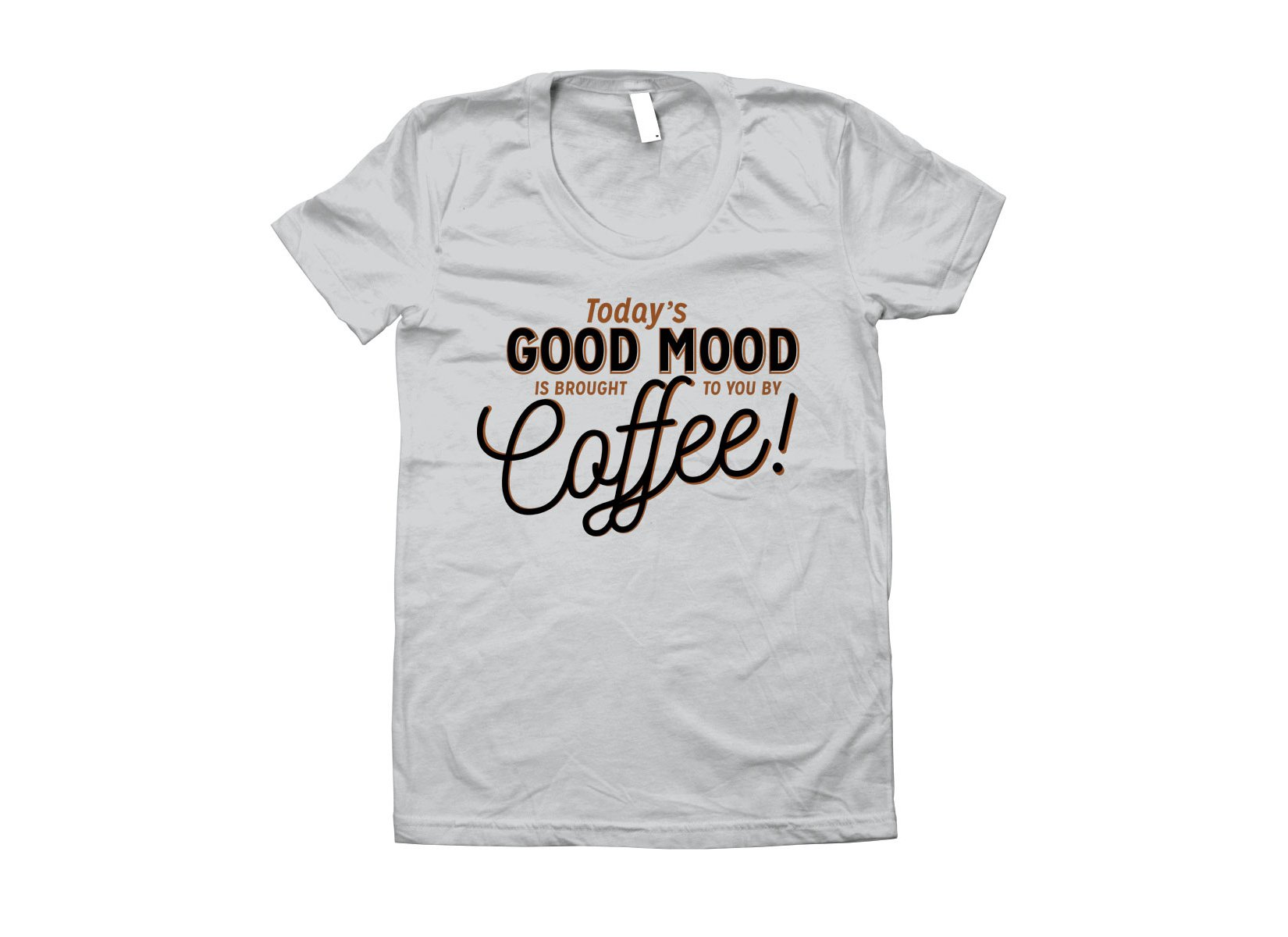 Today's Good Mood on Juniors T-Shirt
