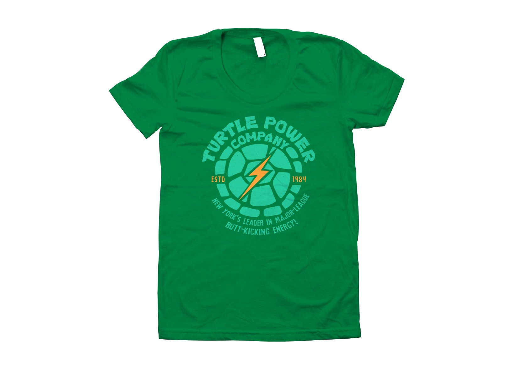 Turtle Power Company on Juniors T-Shirt