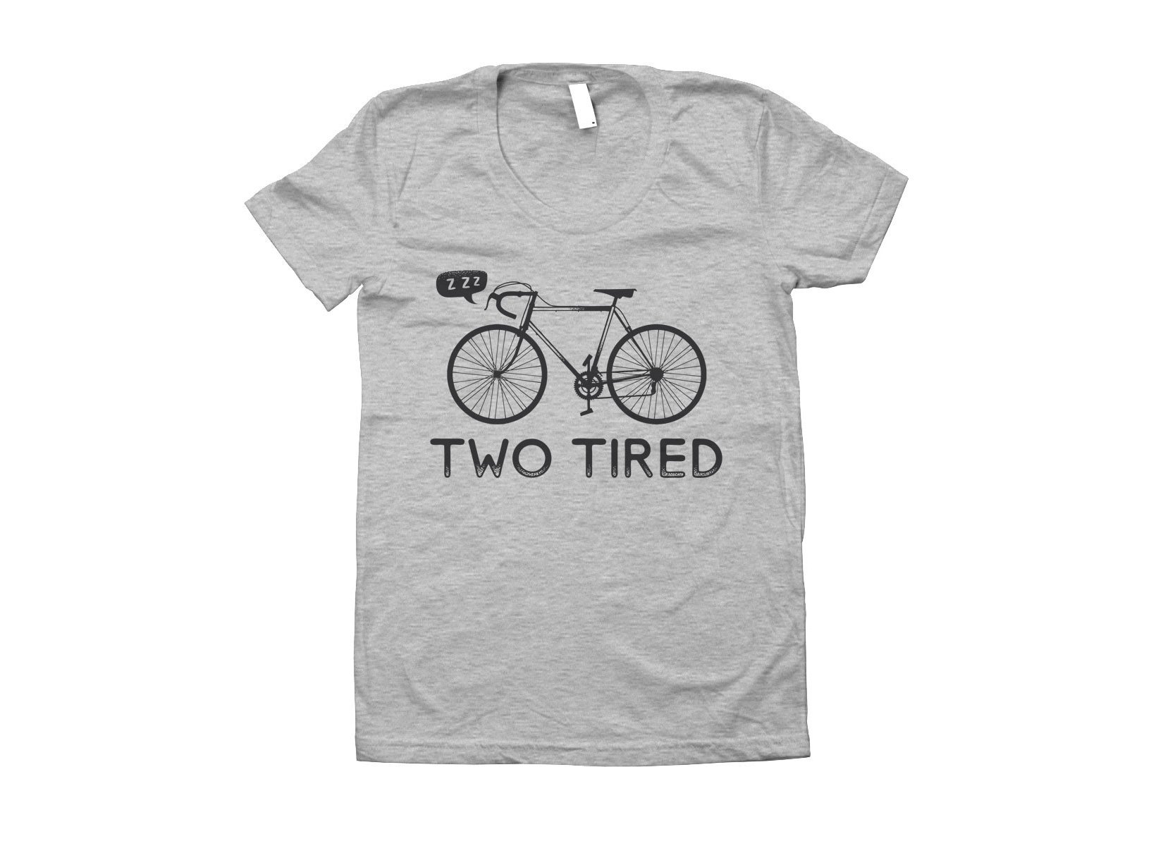Two Tired on Juniors T-Shirt