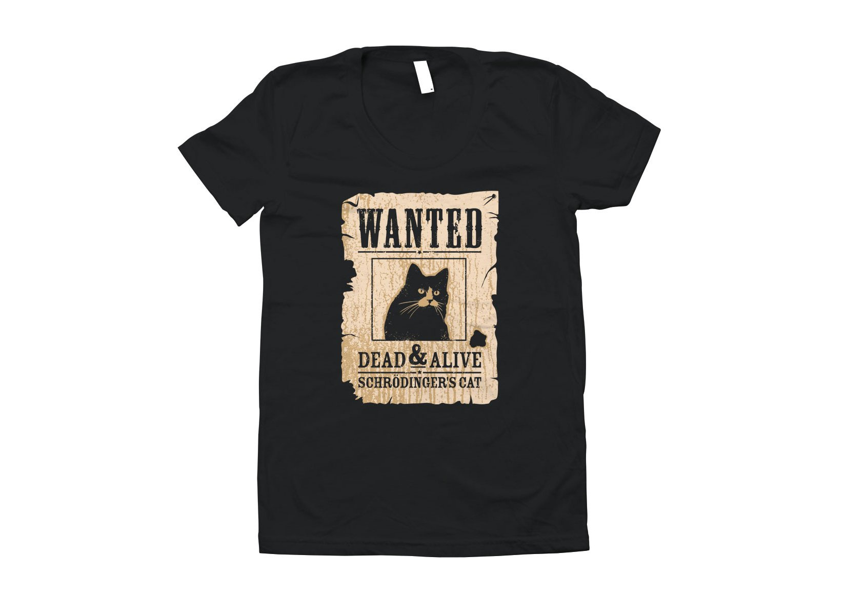 Wanted Dead Or Alive Cat T Shirt