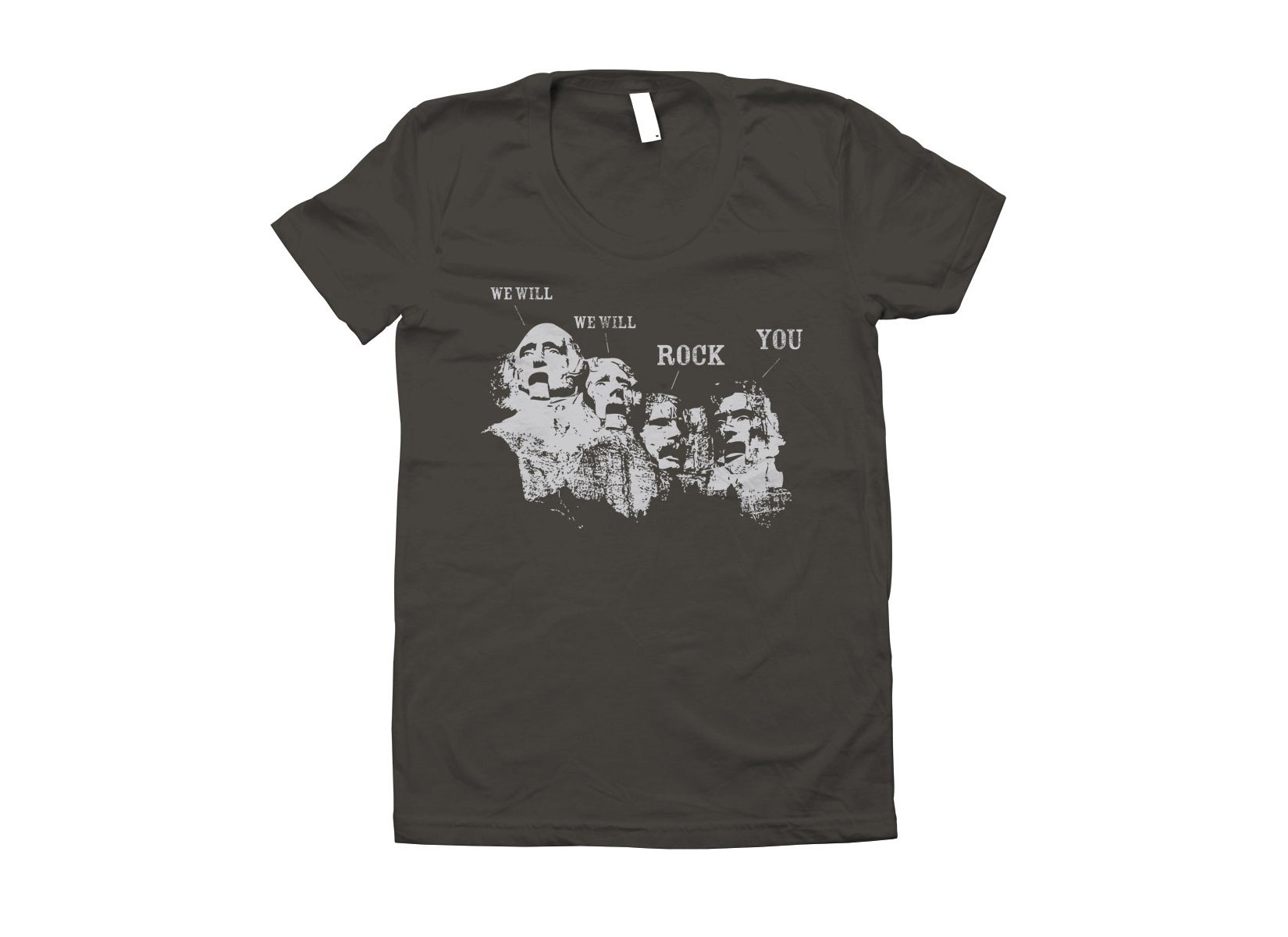 We Will Rock You on Juniors T-Shirt