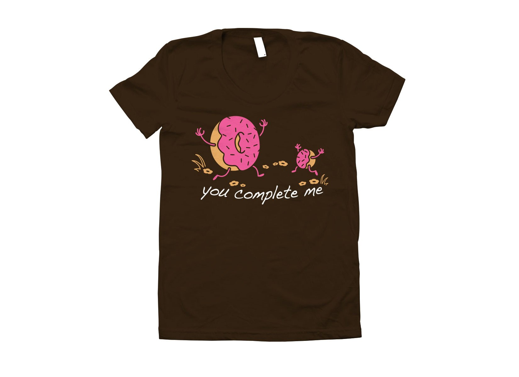 You Complete Me on Juniors T-Shirt