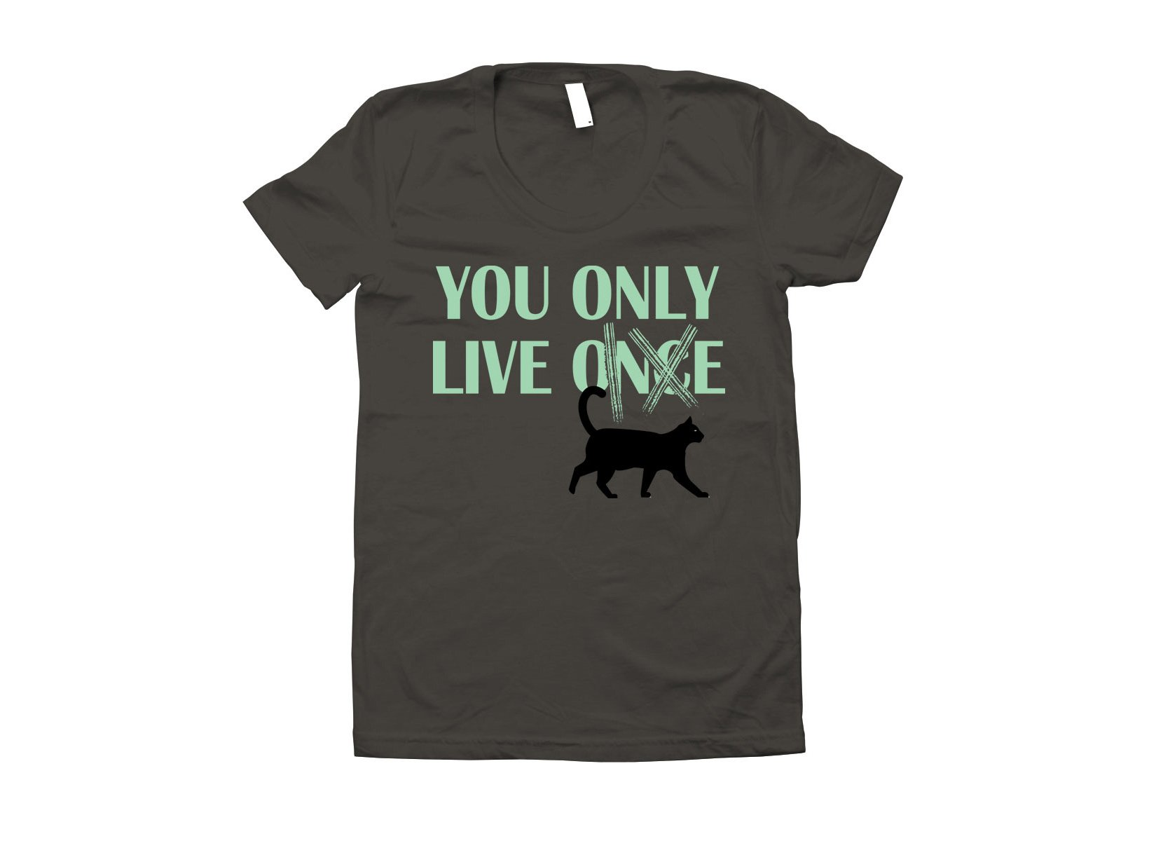 You Only Live 9 on Juniors T-Shirt