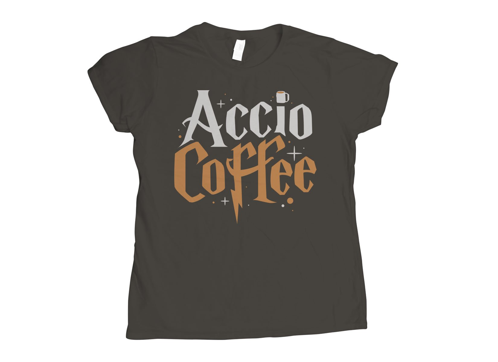 Accio Coffee on Womens T-Shirt