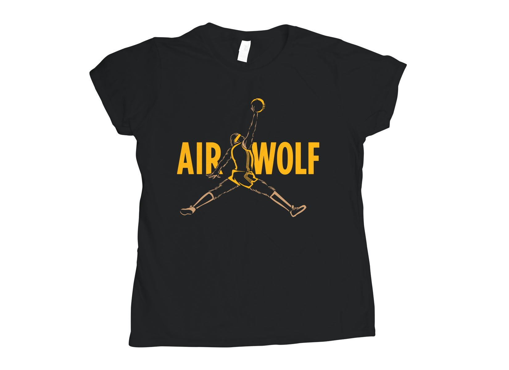 Air Wolf on Womens T-Shirt