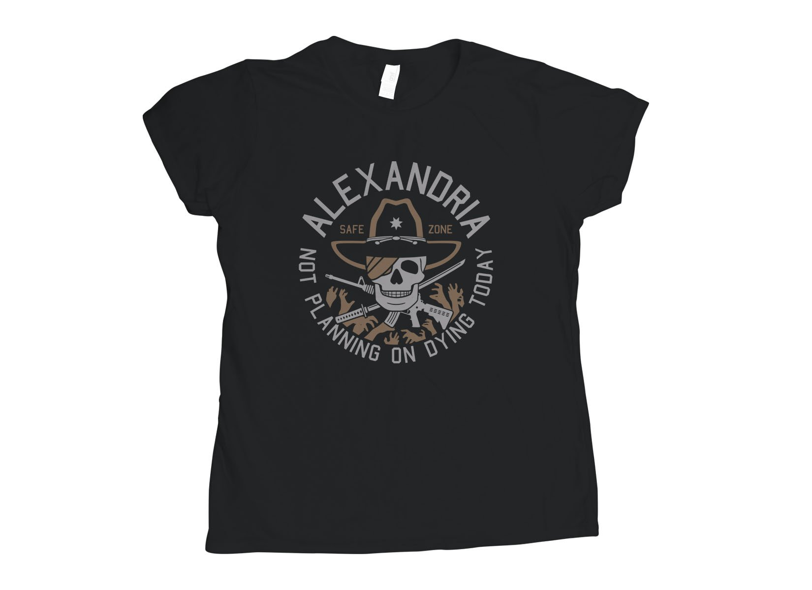 Alexandria Safe Zone on Womens T-Shirt