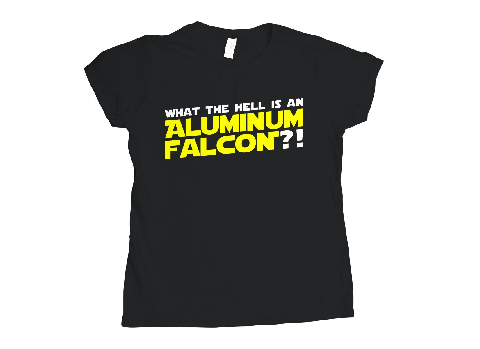 Aluminum Falcon on Womens T-Shirt