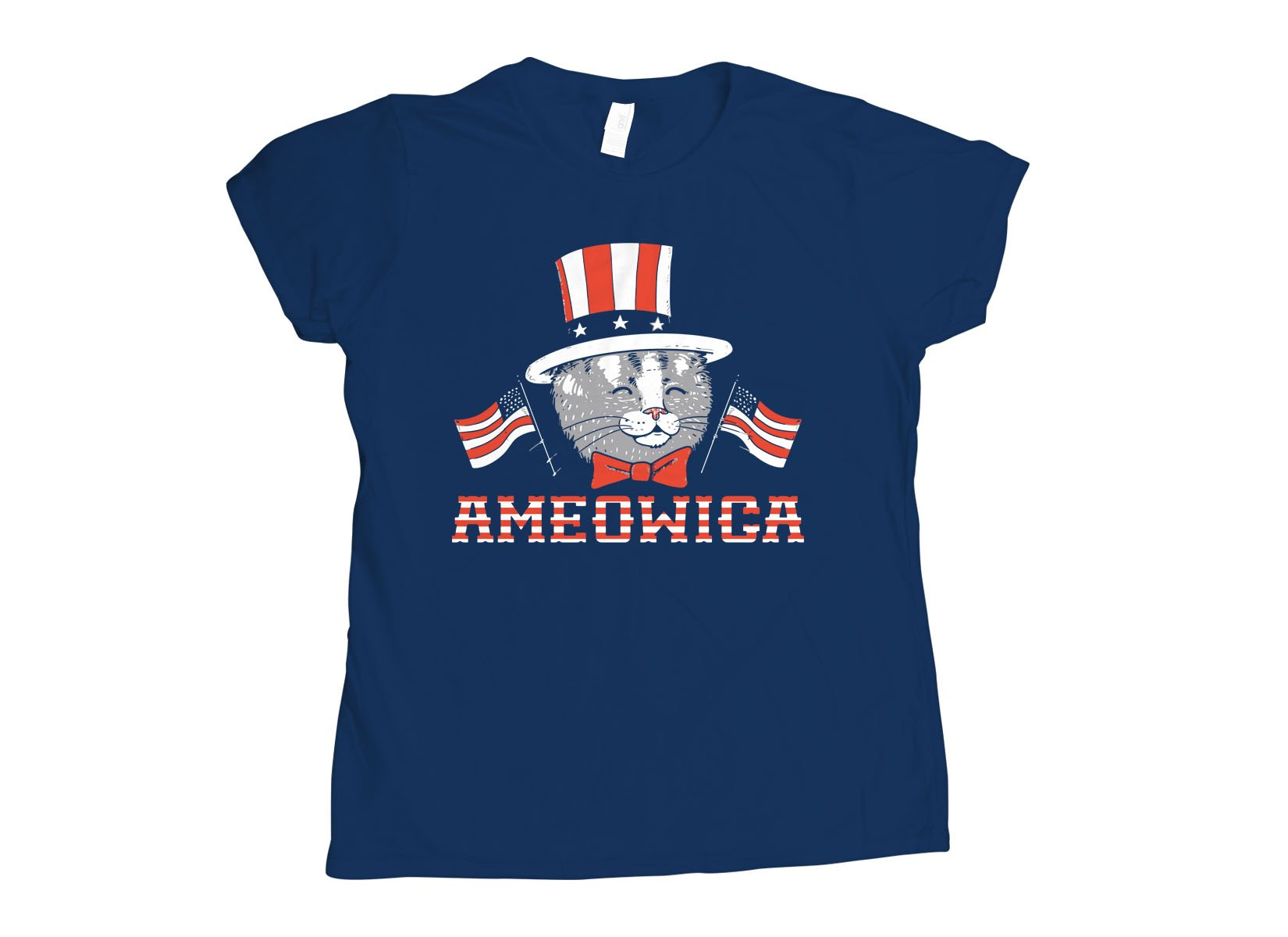 Ameowica on Womens T-Shirt
