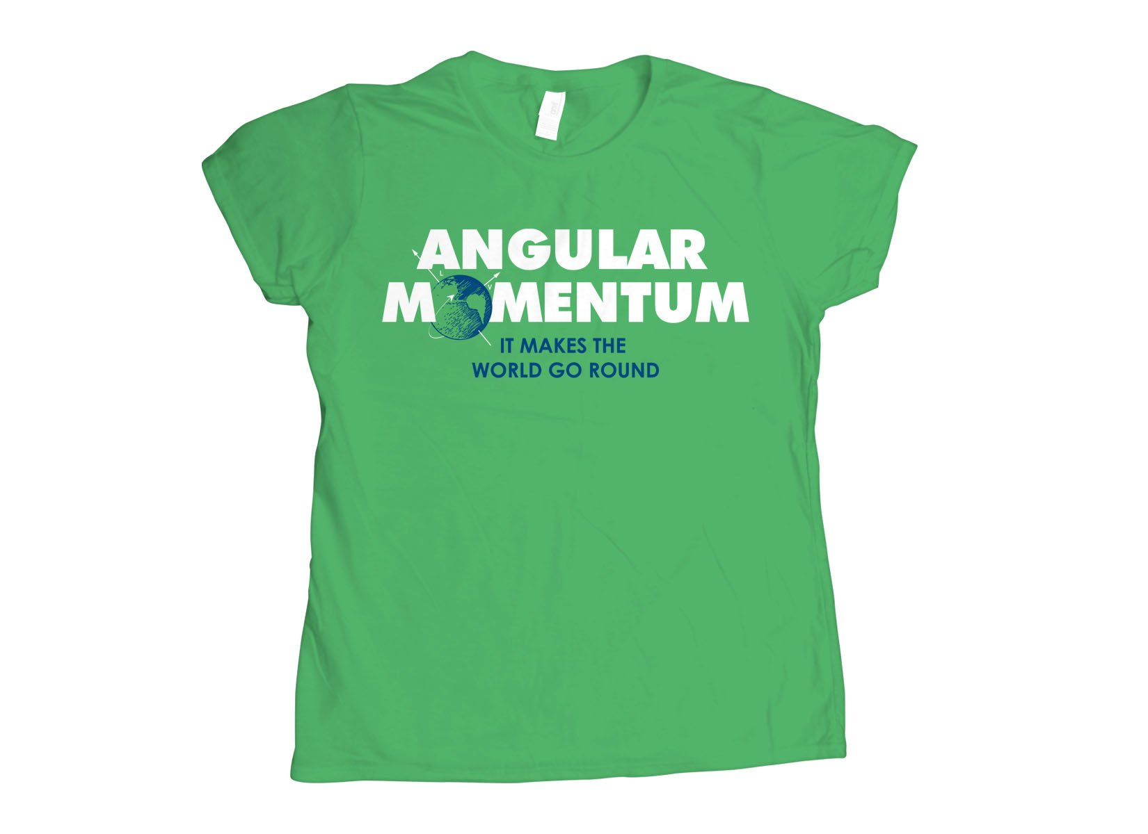 Angular Momentum on Womens T-Shirt