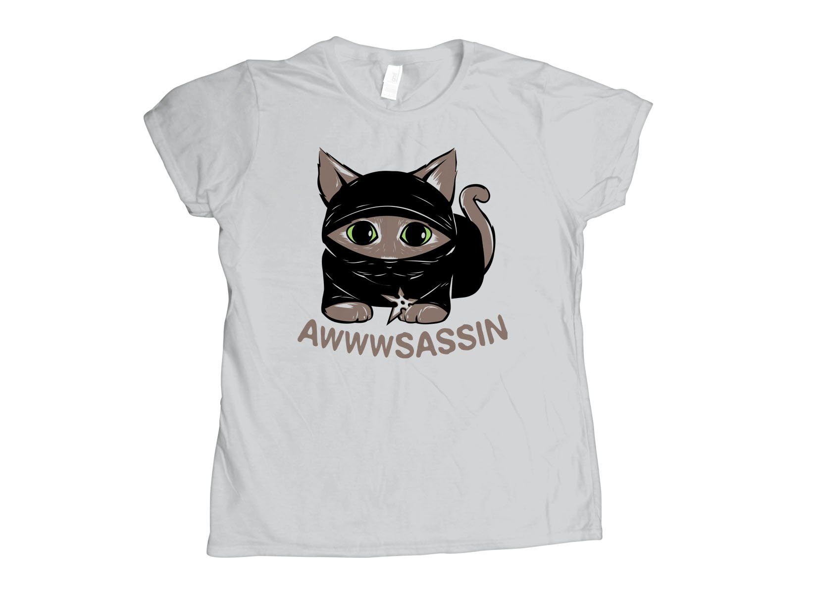 Awwwsassin on Womens T-Shirt