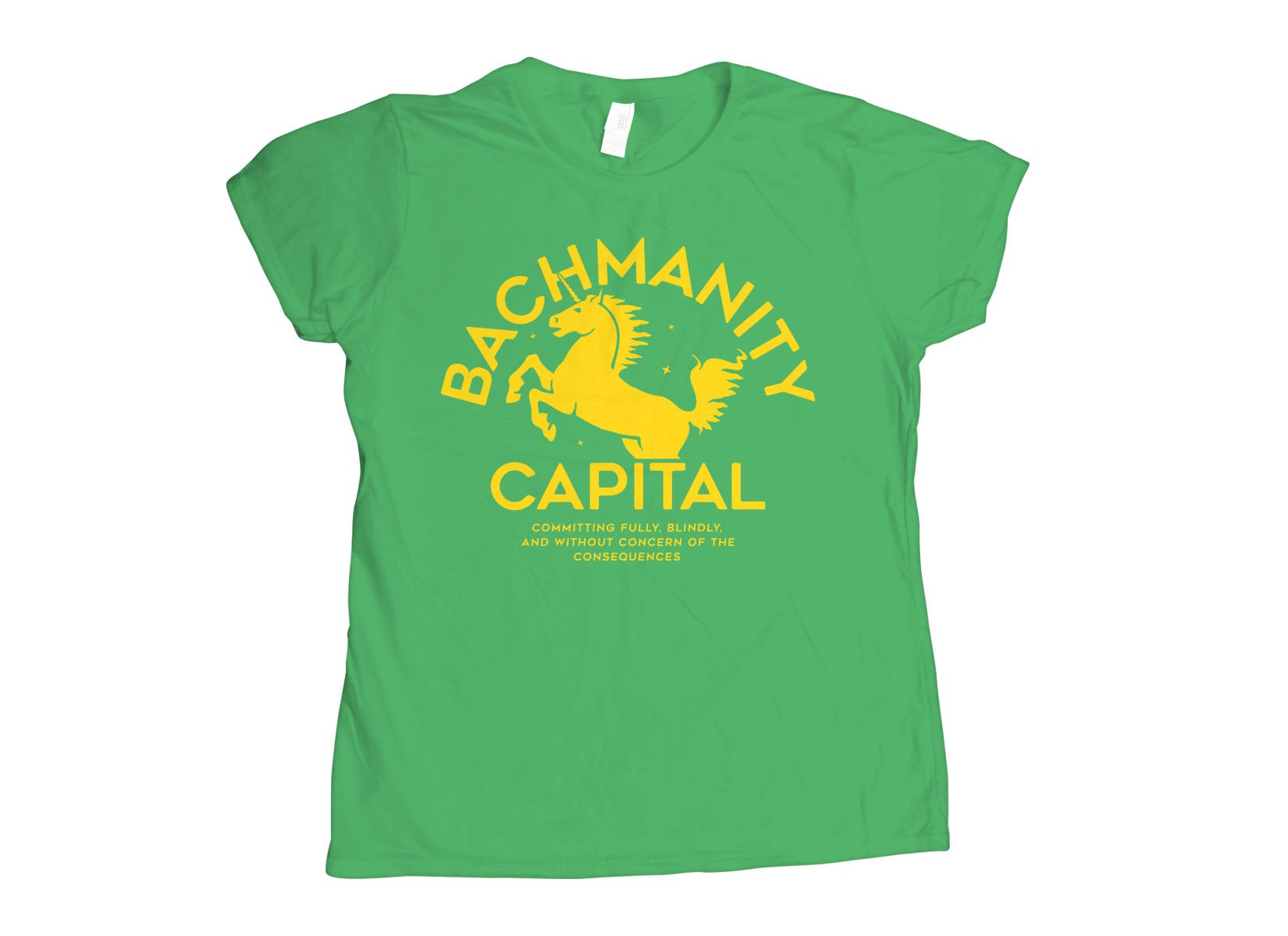 Bachmanity Capital on Womens T-Shirt