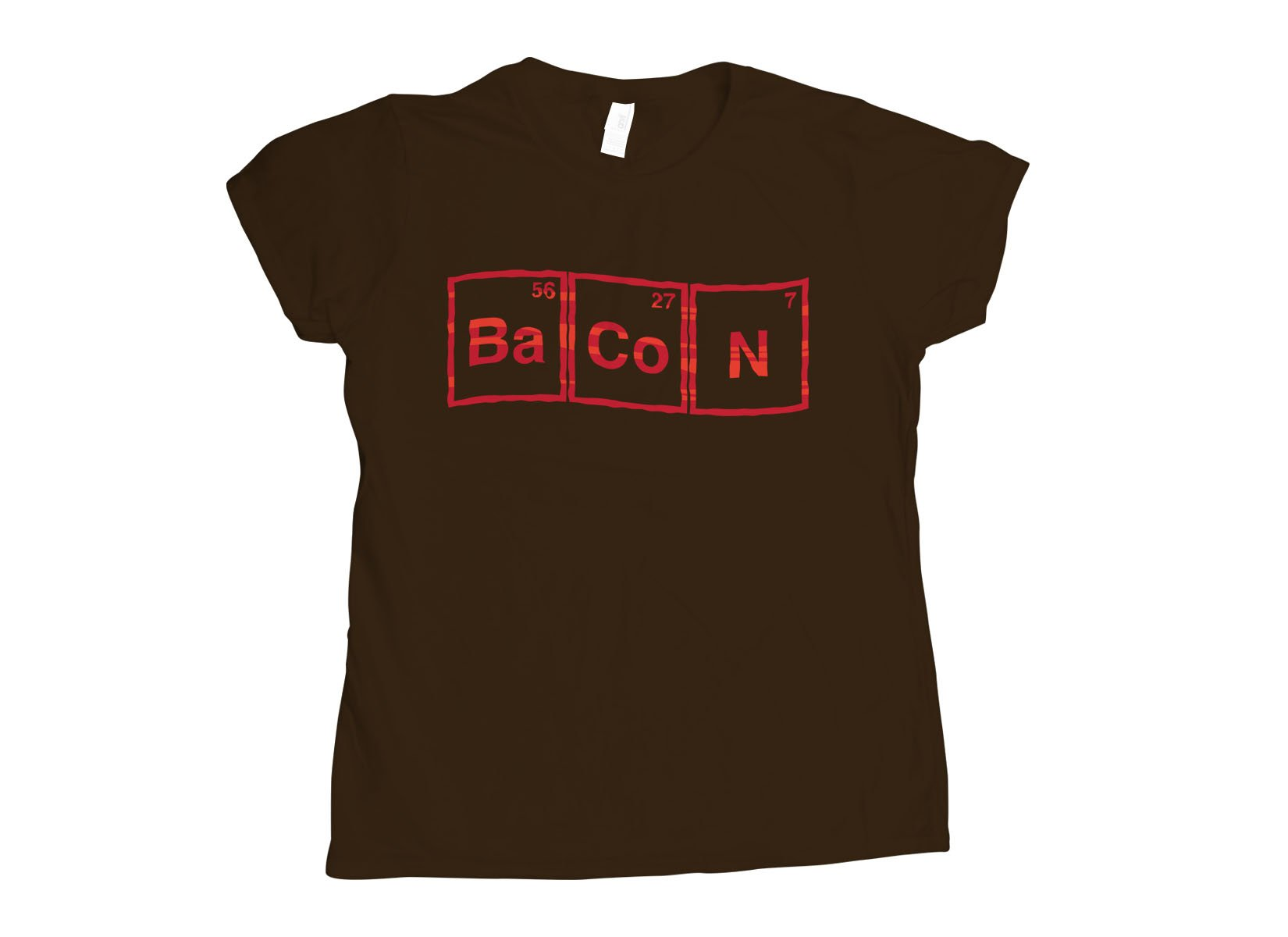 Bacon Compound on Womens T-Shirt